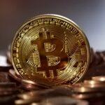Ein Bitcoin steht auf diversen Münzen.
